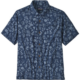 Patagonia Lightweight A/C Shirt Men fiber flora/stone blue